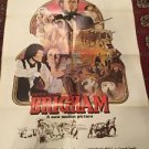 Brigham 1977 Movie Poster Vintage One Sheet Folded Maurice Grandmaison Moll