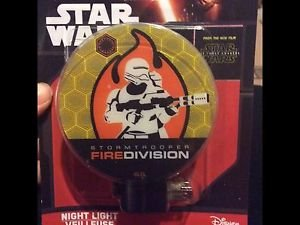 Star Wars Fire Division Night Light Lamp - NIB