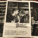 Stardust Memories 1980 Style C Review A Sheet Movie Poster Woody Allen Rampling