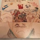 John Lennon Walls And Bridges June 1952 Age 11 USA LP Vinyl Records Vintage