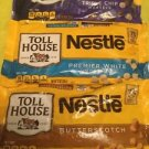 Three Nestle Toll House Butterscotch White Triple Baking Morsels Chips 11oz bags