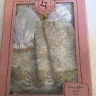 "Companion Fashion Wear Fancy Affair 12"" Dolls Dress Purse Shoes White Gold New"