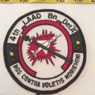 Patch Memorabilia 4th LAAD Bn Det A Nos Contra Black Green Red White Americana