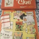 Vintage 1956 CLUE Board Game in Original Box w/ Instructions & Game Pieces