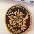 Patch American Trucking Assns Safe Driving Award ATA No Accident 1 Year