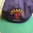 Andretti Texaco Havoline Racing Hat Vintage 90s SnapBack Adjustable Purple Teal