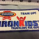 Colonial Iron Kids Vintage Patch Triathlons For Kids Team Up Americana Bread