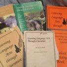 Learning Language Arts Through Literature Orange Green Tan Blue Book Lot