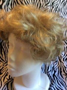 Christine Jordan Wig Ruby Average FR23/20 Light Blond Wavy Curly New Box Tag