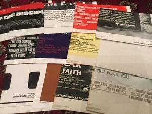 One Sheet Movie Posters 27x41 80s 1980 1981 1983 Vintage Lot of 13 Americana
