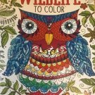 Adult Coloring Book Wildlife Color Animals Kappa Designer Series Stress Relief