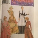 Simplicity Costume Pattern 5041 Holiday Adult D 4 6 8 Pilgrim Prairie Victorian