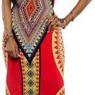 Vibrant African Inspired Dress