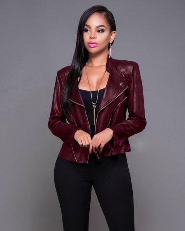 Winter Faux Leather Jacket