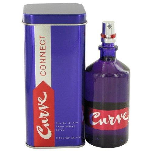 Curve Connect By Liz Claiborne Eau De Toilette Spray 3.4 Oz
