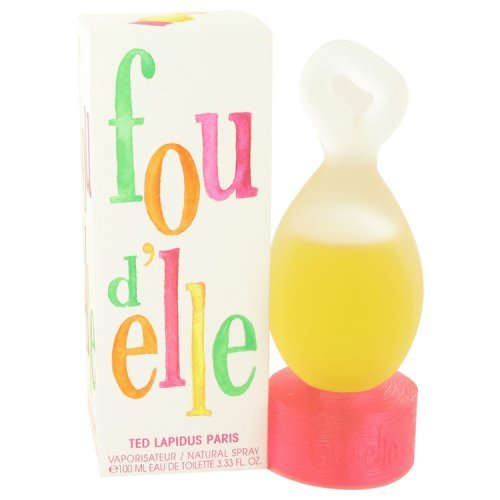 Fou D'elle By Ted Lapidus Eau De Toilette Spray 3.33 Oz