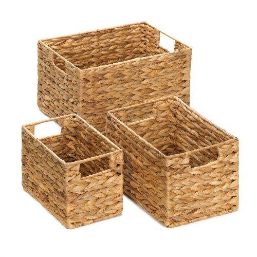 Straw Nesting Basket Set