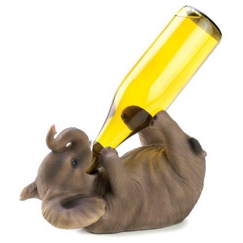 Playful Elephant Wine Holder