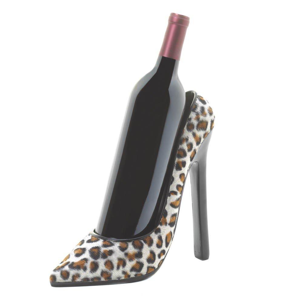 Leopard Shoe Wine Holder