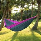 1 set  Portable Parachute Nylon Fabric Hammock For Two Person Lover Outdoor Travel