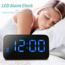 Alarm Clock Digital LED Voice Control Time Display Silent USB Cable