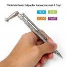Fidget Pen Tri-Spinner Think Ink Pen Toy Magnetic Metal Pen For Autism