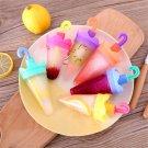 Ice Cream Mold Cartoon Umbrella Rabbit DIY Popsicle Mold Frozen Handle