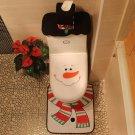 Santa Claus Toilet Sets Three Sets Of Christmas Toilet Sets