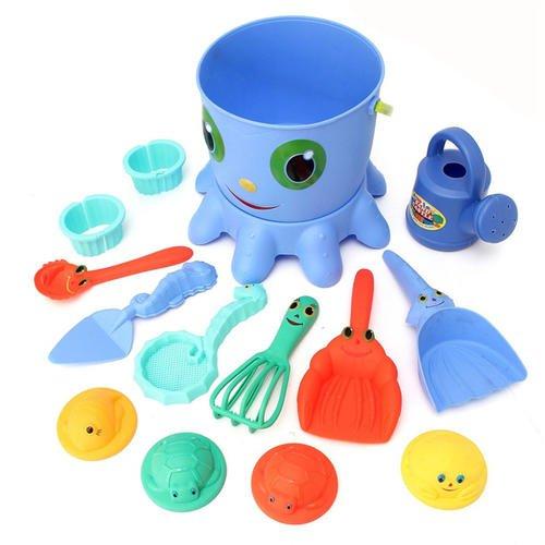 Beach Tools Set Sand Playing Toys 14pcs/set Kids Fun Water Beach Seaside Tools