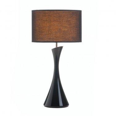 SLEEK MODERN BLACK TABLE LAMP