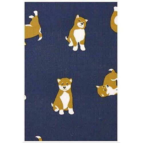 Hamamonyo Shiba Inu Design Nassen Tenugui Towel