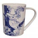 Moomin Valley Botanical Art Porcelain Mug Yamaka MM173-11 Snufkin