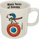 Snoopy Peanuts Porcelain Mug Yamaka SN221-11 Flying Ace