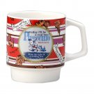 Disney Pinocchio Porcelain Stacking Mug Maebata 23767(Japan import)