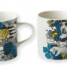Disney Winnie the Pooh Porcelain Pair Mug Maebata 23741