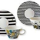 Disney Winnie the Pooh Porcelain Mug and Saucer Set of 2