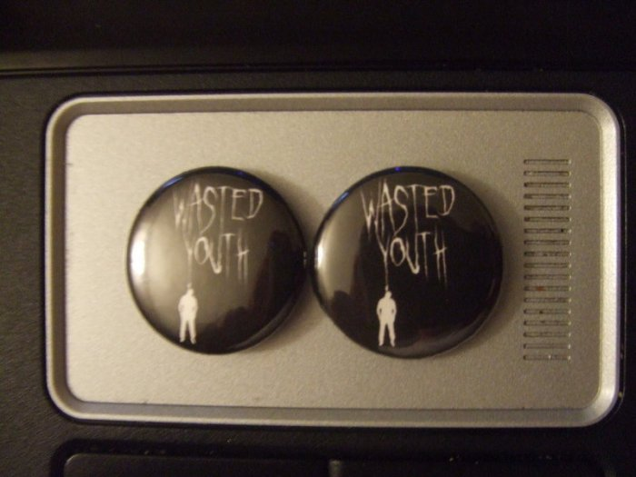 Wastedyouth Buttons