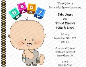 Personalized Baby Shower Invitation (babygirl1021)