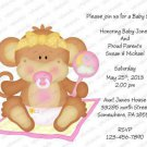 Personalized Baby Shower Invitaitons (babygirl2038)