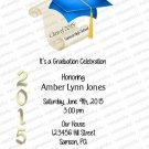 Personalized Graduation Invitations 927
