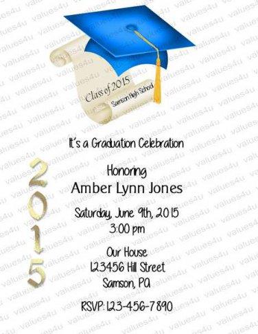 Personalized Graduation Invitations 927