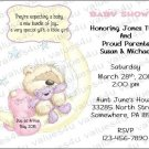 Personalized Baby Shower Invitations (babygirl2240)