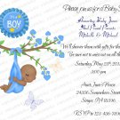 Personalized Baby Shower Invitations (babyboy1214)