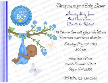 Personalized Baby Shower Invitations (babyboy1214)