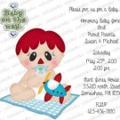 Personalized Baby Shower Invitations (babyboy1205)