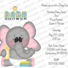 Personalized Baby Shower Invitations (babyboy1203)