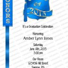 Personalized Graduation Invitation (graduation948)