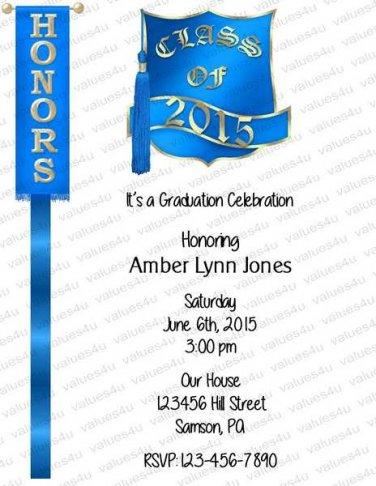 Personalized Graduation Invitation (graduation948)