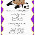 Personalized Baby Shower Invitation (babygirl2250)