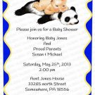 Personalized Baby Shower Invitation (babyboy1242)